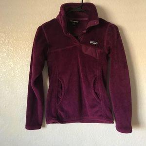 Patagonia Polartec Purple fleece pullover, XXS